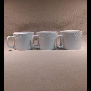 Gibson, Fruit Pattern, Mugs,  Approximately 12oz